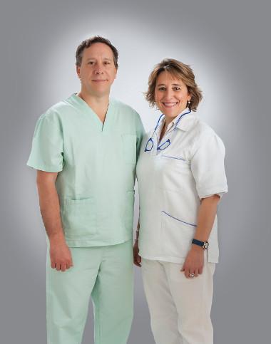 Los doctores Sánchez Caballo